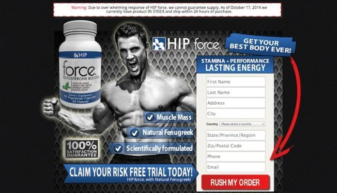 HIP Force Testosterone Booster