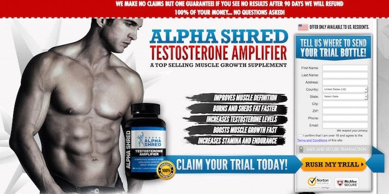 Can Alpha Shred boost testosterone levels?