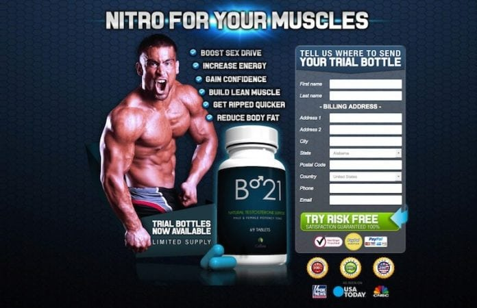 B-21 Testosterone Booster