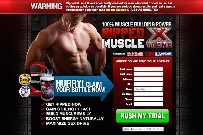 Is the Ripped Muscle Xtreme trial a scam?