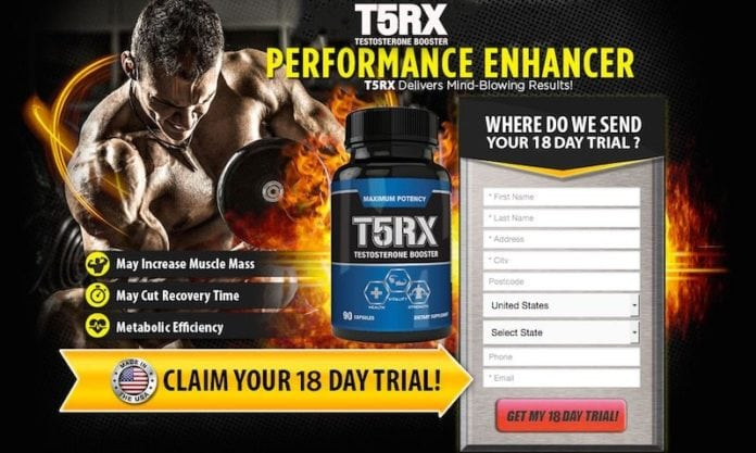 T5RX Testosterone Booster