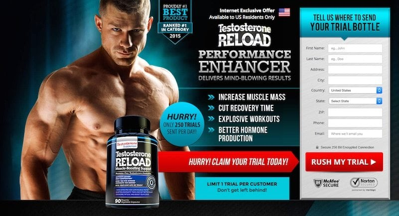 Testosterone Reload Performance Enhancer Review – Is it a scam?