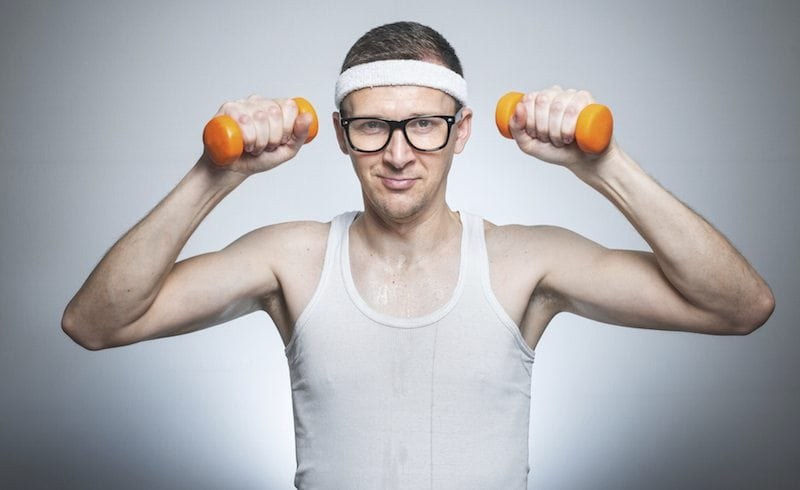 Building Muscle with Light Weights – Is it possible?