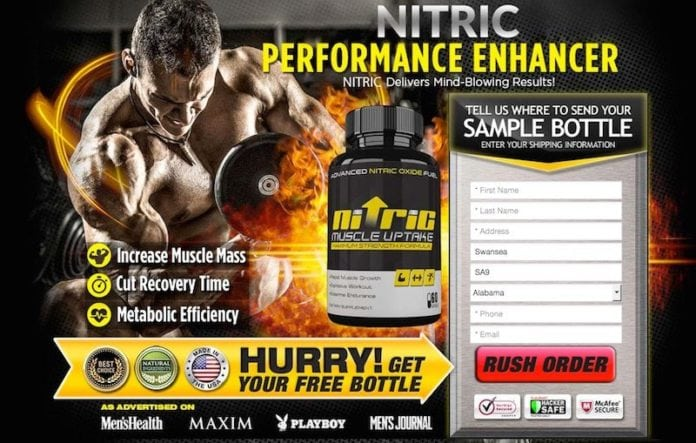 Nitric Muscle Uptake