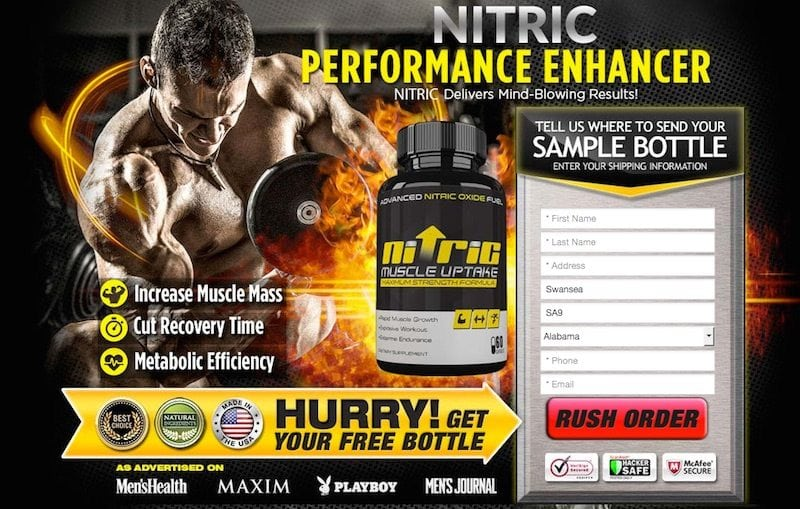 Nitric Muscle Uptake Trial Offer Review – Is this offer a scam?