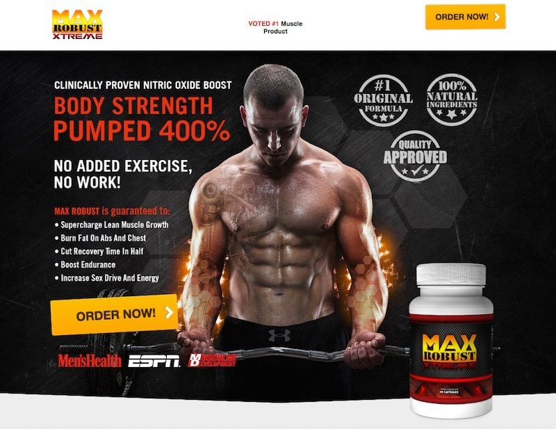 max robust xtreme review is this muscle builder recommended. Black Bedroom Furniture Sets. Home Design Ideas