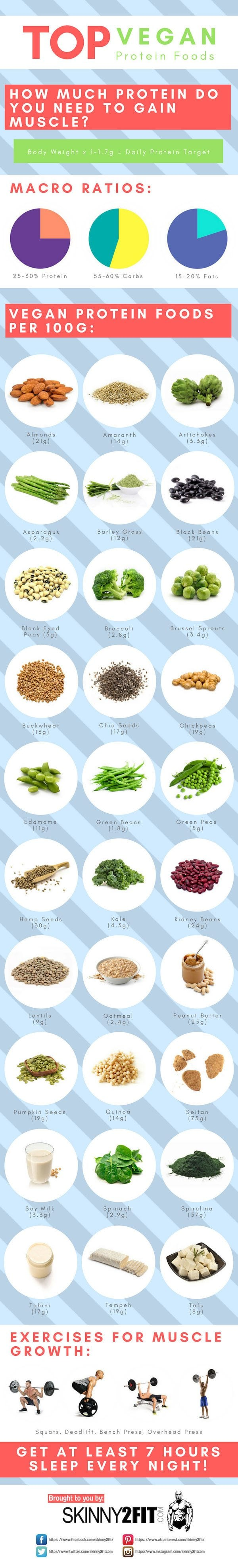 Top Vegan Proteins