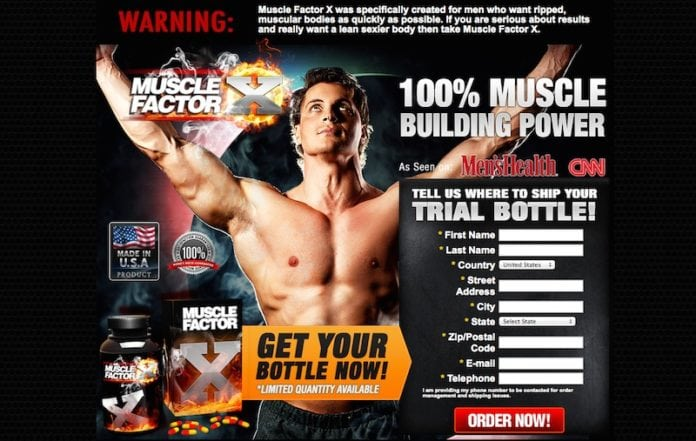 Muscle Factor X scam report