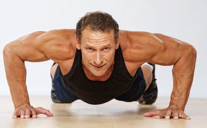 Muscle building in your 40s