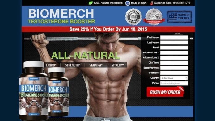 BioMerch Testosterone Booster