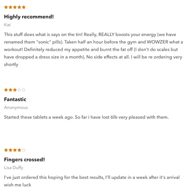 Hiprolean XS User Reviews