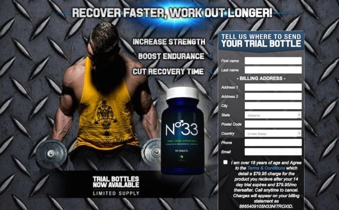 N-33 Nitric Oxide Booster
