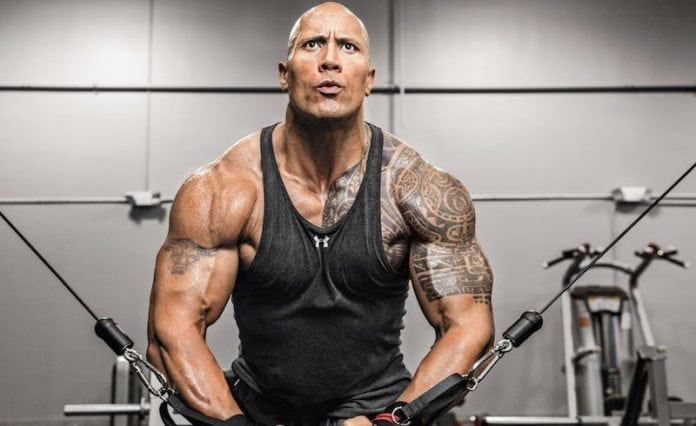 Build Muscle like the Rock