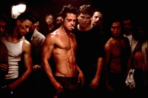 Brad Pitt – Fight Club