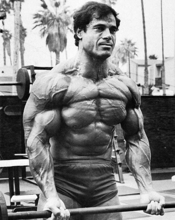 Franco Columbu Training