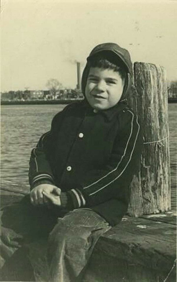 Lou Ferrigno as a Child