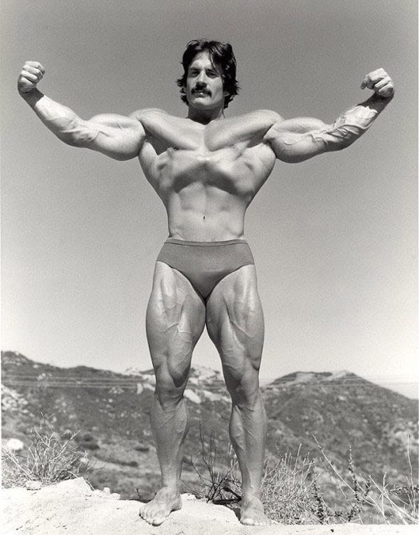 Mike Mentzer as a professional