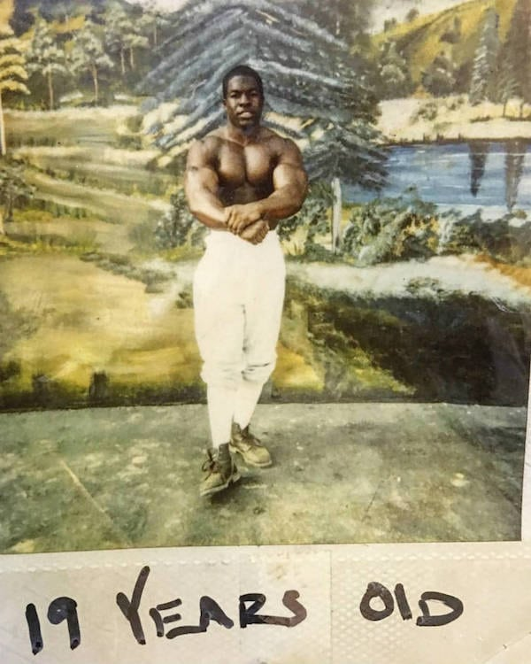 Young Kali Muscle