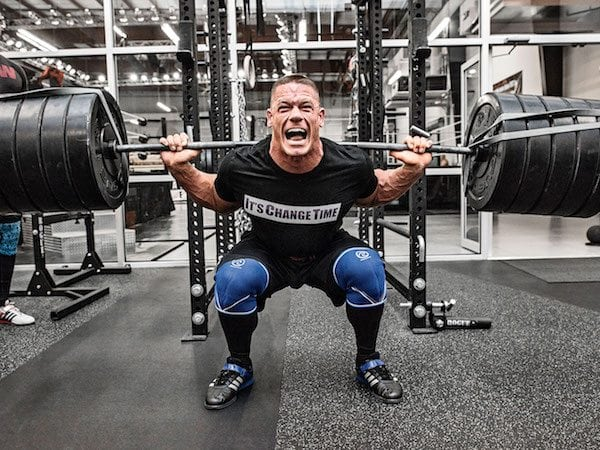 John Cena's Training Routine