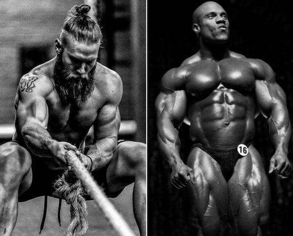 Bodybuilding Vs Crossfit Physique