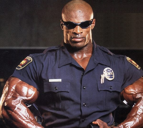 Ronnie Coleman Policeman