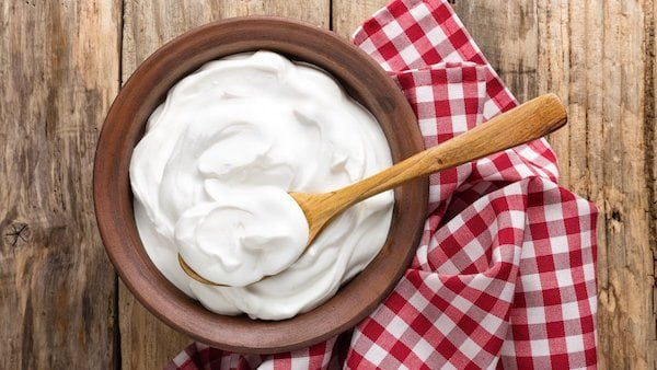 Zero Percent Fat Greek Yoghurt