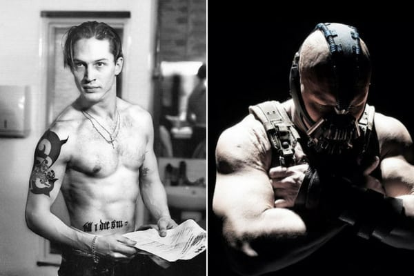 Tom Hardy Before & After