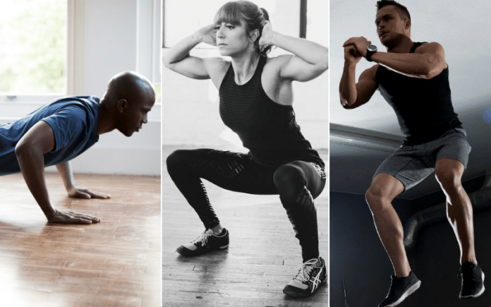 CrossFit Exercises You Can Do At Home With No Equipment